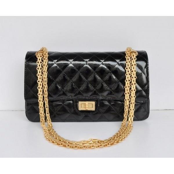 chanel uk. chanel 2.55 series caviar leather flap bag a01112 black golden- original - uk