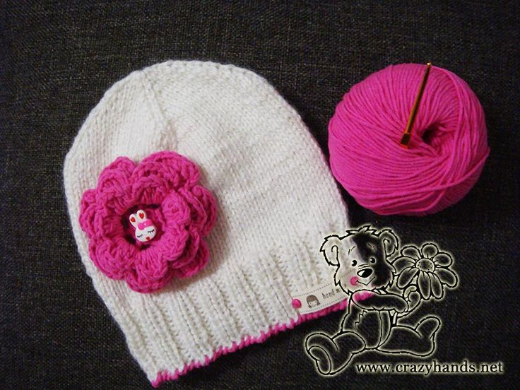 Children's knitted hat pattern · Crazy Hands Knitting