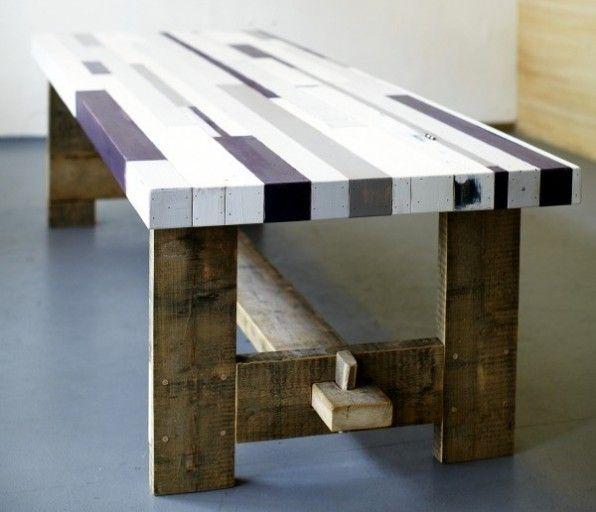 Sloophout reclaimed tafel