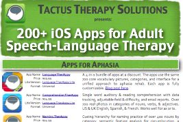 Awesome list of apps to use with adults in a rehab or nursing home setting!