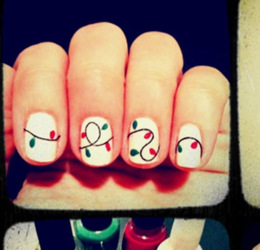 Christmas Light Nails: 1000+ Images About Ugly Christmas Sweater 5K On Pinterest