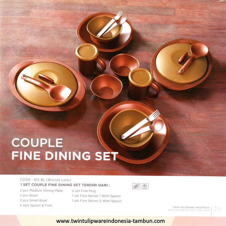 Couple Fine Dining Set