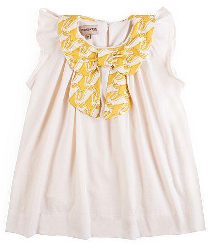 Hucklebones Rabbit Print Bow Dress