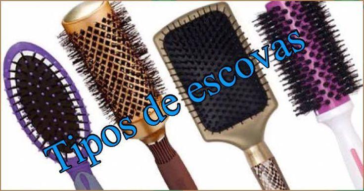 Tipos de escovas cabelo e suas funções