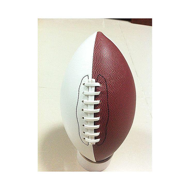 Бесплатная доставка ПВХ Нанизывая Мяч Для Регби Рив пояс Американский Футбол Высокого Качества механическая швейная Стандартный Размер 5 регби