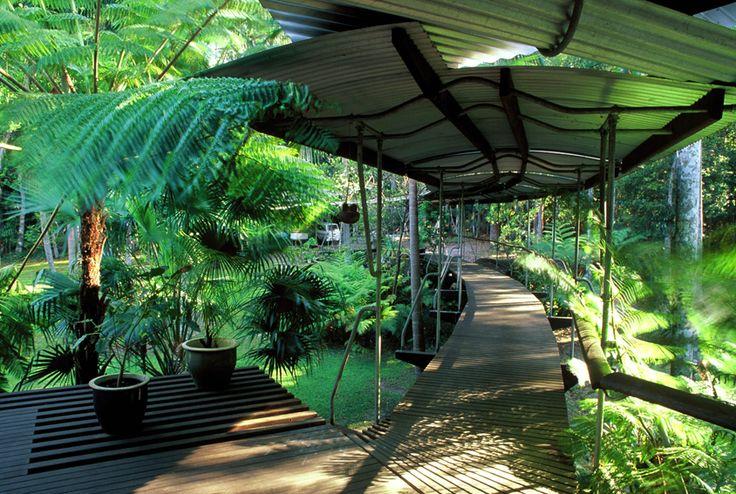 aadnesen: Rainforest House, Mapleton, QLD, by Richard Leplastrier