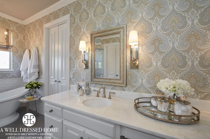 Master bathroom remodel by a well dressed home llc to for Bathroom design visit