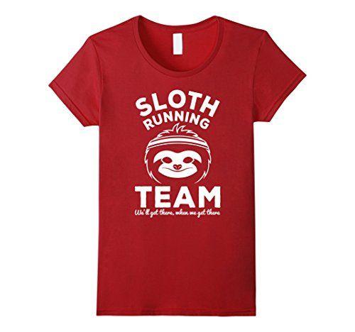 Sloth Running Team - funny t shirt