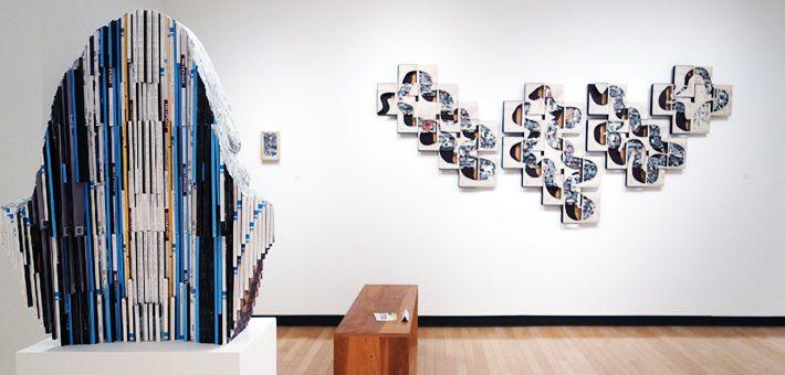 Rebound: Μια έκθεση σύγχρονης τέχνης με μέσο το βιβλίο. Γλυπτική