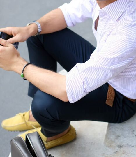 Mr. yellow shoes: Men S Style, Men S Fashion, Mens Fashion, Street Style, Outfit, Yellow Shoes, Mensfashion, Yellow Loafers