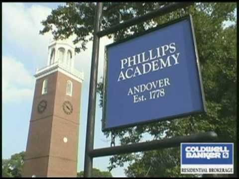 39. Phillips Academy is the flagship institution of Andover, MA - disclaimer: this is a Caldwell Banker sales video