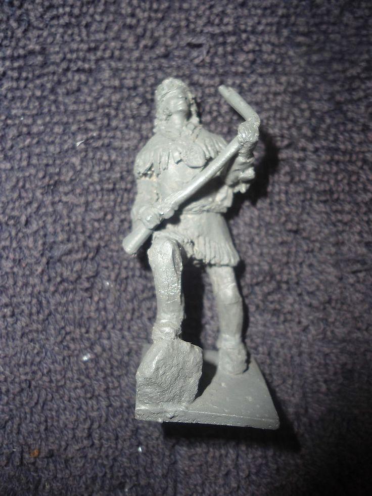 Jane Jackson #UC3 54mm Tecumseh Shawnee Chief 1812 Metal Military Figure Soldier #Jackson