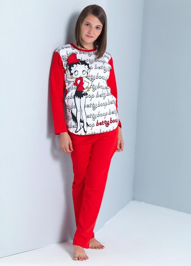 Roly Poly ve Sleeper - BETTY BOOP Betty boop garson pijama Markafoni'de 59,90 TL yerine 42,99 TL! Satın almak için: http://www.markafoni.com/product/3010080/