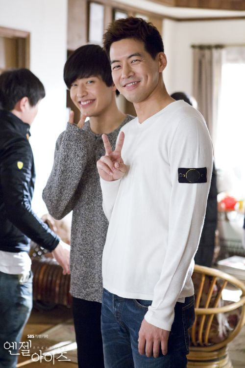 SBS Angel Eyes - Lee Sang Yoon and Kang Ha Neul (Both portrayed Park Dong Joo!)