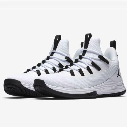 4e5ccf73138fe9 Jordan Ultra Fly 2 Low Mens Basketball Shoes White Black  Jordan   BasketballShoes