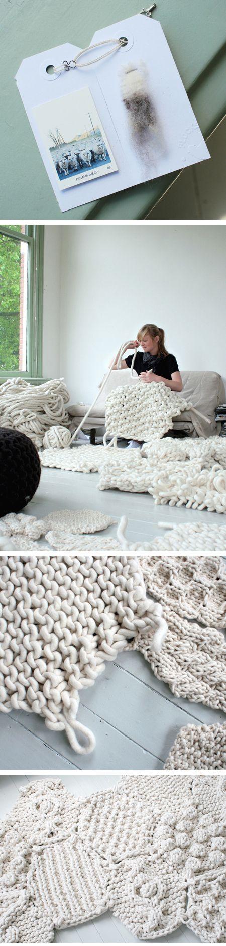 Giant Knitting @Maria Ordinola