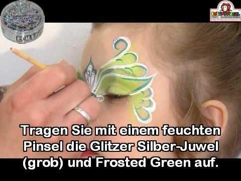 Schritt für Schritt Anleitung der Maske Tinka Bella von Eulenspiegel Profi-Schminkfarben GmbH
