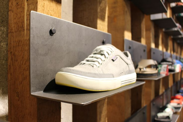 Patagonia, retail design, interior design, store, Trento, concept, design, production, installation, visual merchandising #shoe