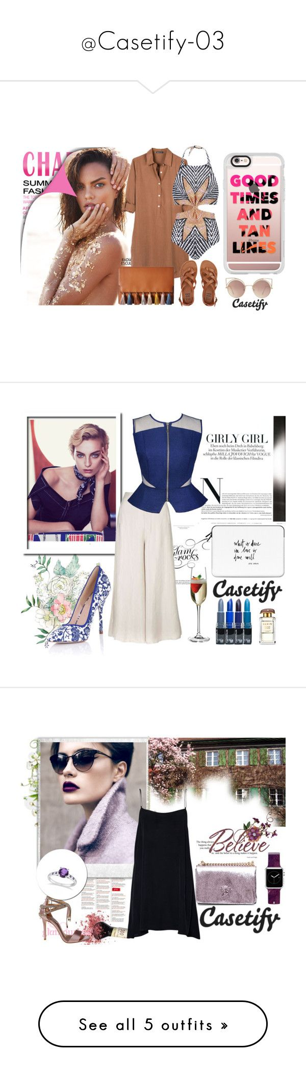 """""""@Casetify-03"""" by autumn-soul ❤ liked on Polyvore featuring Casetify, United by Blue, MANGO, Rebecca Minkoff, Billabong, MARA, iphone, summer2016, Topshop and Kris Jane"""