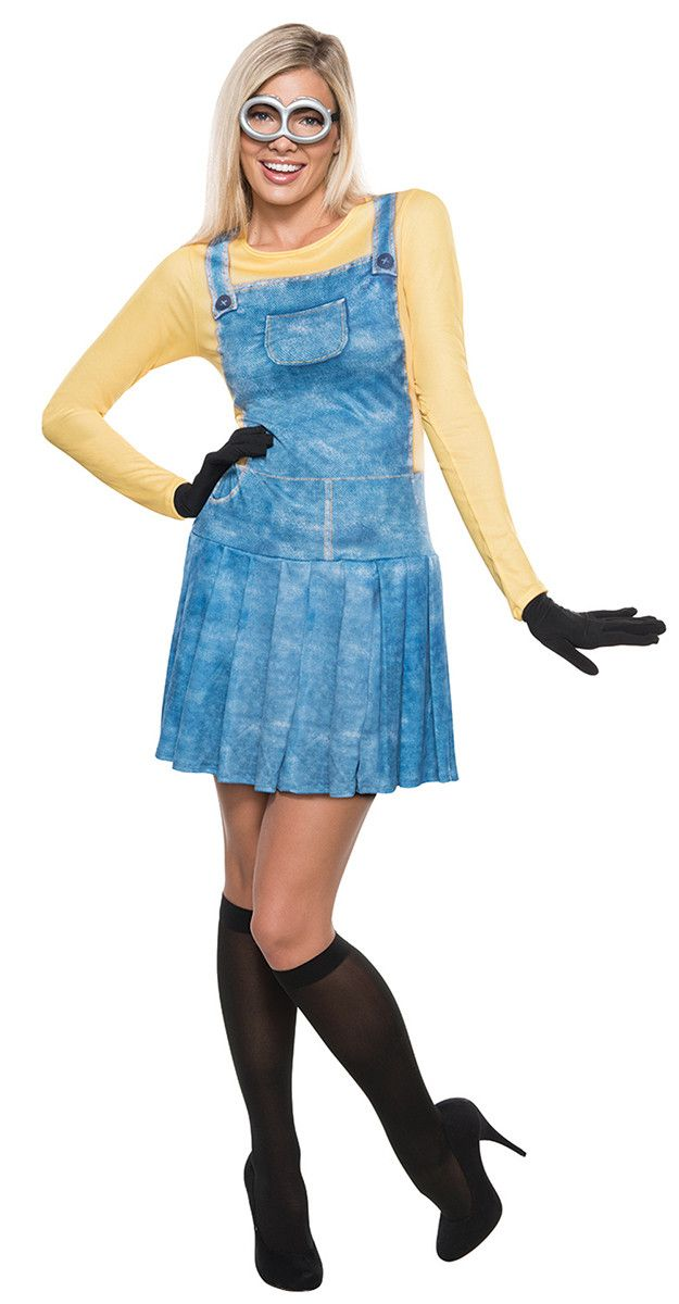 Minion Movie Female Minion Adult Costume