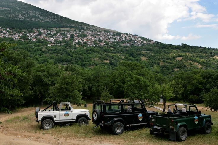 Just a pit stop #rapsani #tsantali #jeep #Greece #oenotourism #adventure #experience