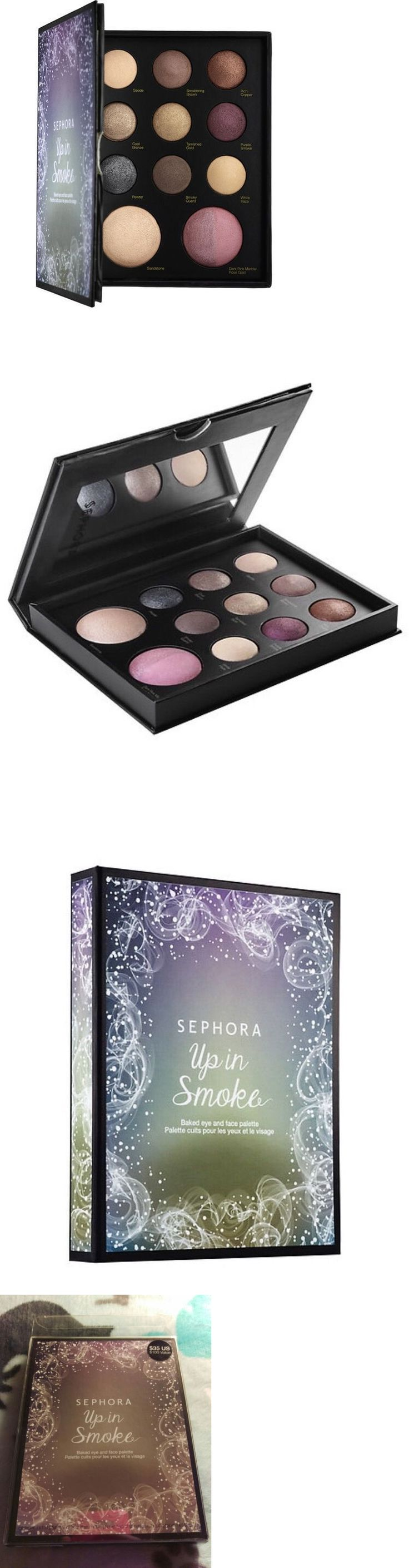 Makeup Sets and Kits: Sephora Collection ~Up In Smoke~ Baked Eye And Face Palette-$100 !!! Le, Nib!! -> BUY IT NOW ONLY: $37.99 on eBay!