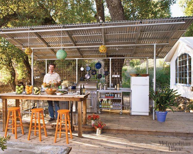 157 best Outdoor Kitchen \ Ovenu0027s images on Pinterest Outdoor - outside kitchen ideas