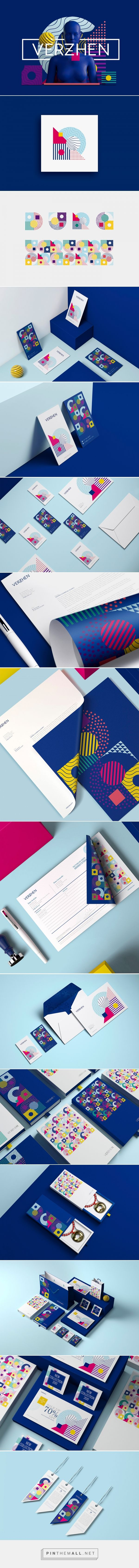 Verzhen Branding by David Espinosa IDS