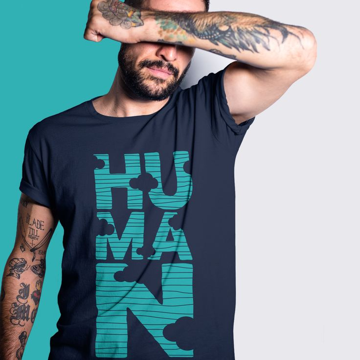 Human. Human t-shirt with a minimal design from one of our most popular categories. Featuring a refined and comfy fit, this t-shirt is perfect for anyone interested in high quality clothing. In stock now with same-day dispatch, and hassle free returns and exchanges.