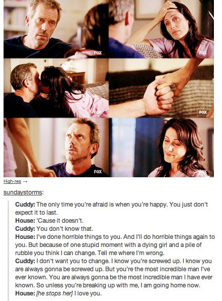 House and Cuddy<3