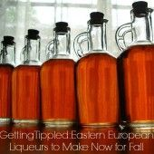 2 Great Liqueurs to Make Now for Fall