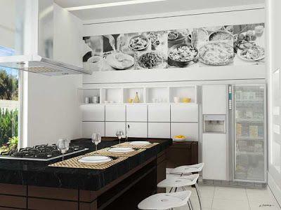 Design Beleza Intemporal por Gê Freitas.: Espaço gourmet!!!
