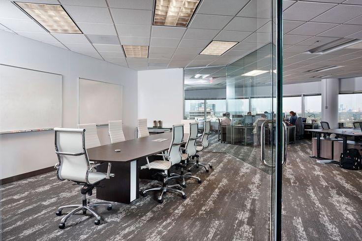 Corporate Flooring Project: Bluetube | Mohawk Group