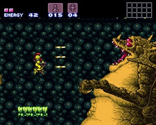 Super Metroid - SNES edition.