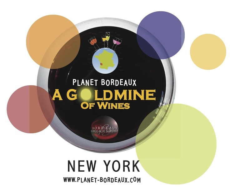 A Goldmine of Planet Bordeaux Wines will take place in New York at the Metropolitan Pavilion, on March 5. It will feature Press and Trade specific hours (11 am-5 pm) and will be open to the public from 5 pm-8 pm, with several exciting options such as :   - walk-around tastings of 60 different wines, buffet snacks and sweets,   - a Master Class led by Kevin Zraly, who will be teaching would-be wine aficionados about the powerful '09 and '10 vintages of Bordeaux wines.  Tickets for the public…