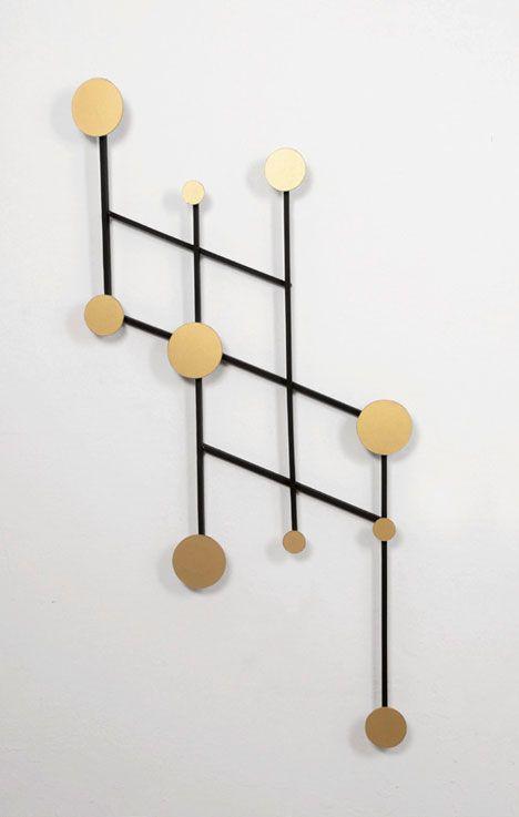 Wall Coat Rack / Wall Hook Memoire, Jakub Zak