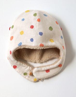 naomi ito : nani iro pocho baby hat : ficelle baby wear