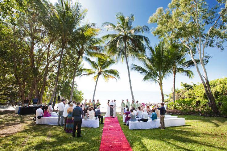 Little Cove Port Douglas wedding ceremony - Sass Studios