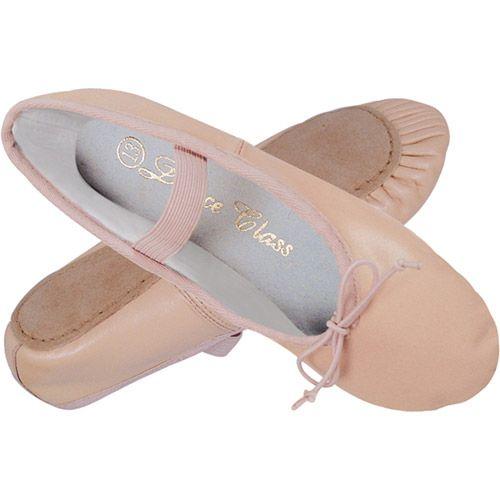 Capezio - 205 Chaussures De Ballet De Peau De Marguerite, Rose - Rose, 27,5 Euros
