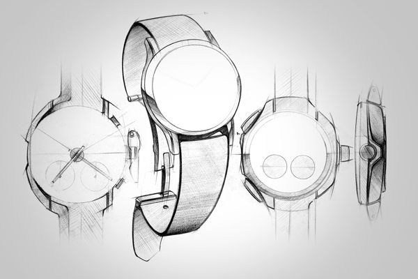 wrist watch doodles & renders by adityaraj dev, via Behance