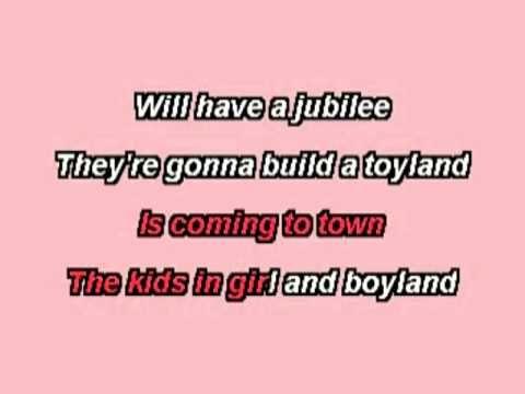 Karaoke - Santa Claus Is Coming to Town
