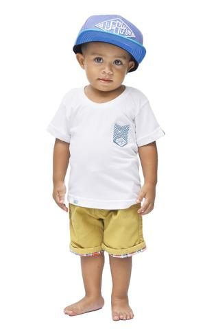 Lifestyle Kids Bamboo Pocket T-shirt - Baki Lifestyle Apparel- Made from Bamboo - 1