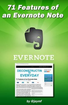 Every Feature of an Evernote Note!