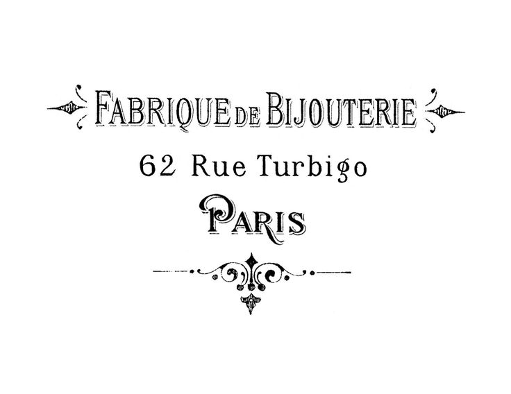 Best Free French Fonts The Graphics Fairy - mandegarinfo