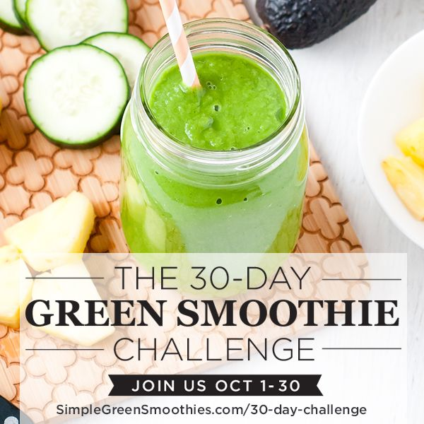 30-Day Green Smoothie Challenge is here!!! Who's joining me?