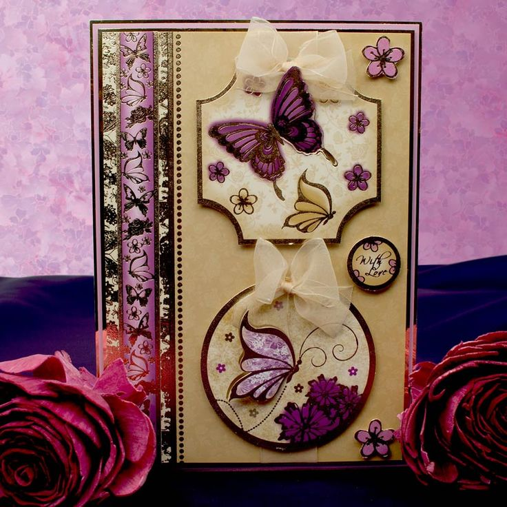 Twilight Butterflies by Hunkydory Crafts