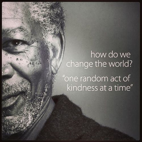 40th Birthday Random Acts Of Kindness: 17 Beste Morgan Freeman Citaten Op Pinterest