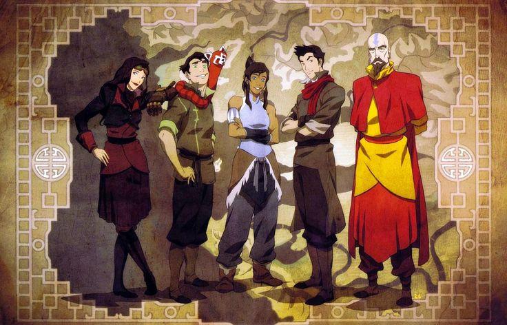 Series Online Latino: Avatar la leyenda de Korra, Online Temporadas Completas Audio latino