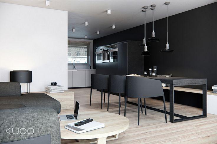 Holandia // Haga // Dom Szeregowy // 105 M2 | Kuoo Architects