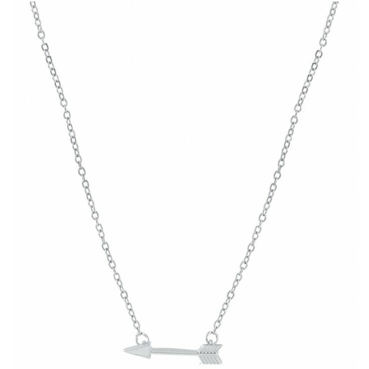 silver arrow necklace zilver pijl ketting